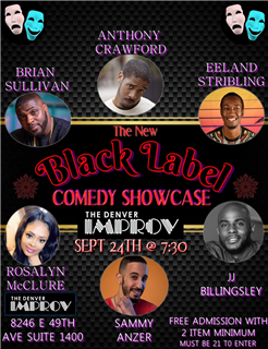 Black Label Comedy Showcase