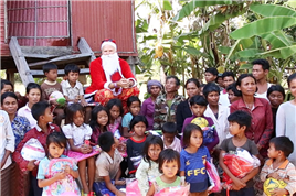 Cambodian Kids Christmas Comedy Charity Show